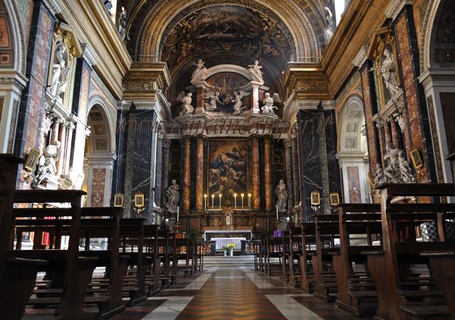 Chiesa di Gesù e Maria, Roma image